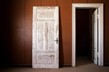 door with old texture Stock fotó