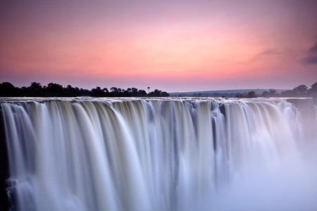 waterfall river: Victoria Falls