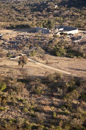 zimbabue: Gran Zimbabwe Foto de archivo