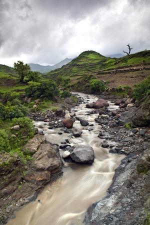 highlands: Ethiopia Highlands scenery  Stock Photo