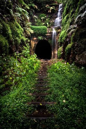 Hidden tunnel photo