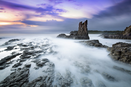 kiama: Rock formation Stock Photo