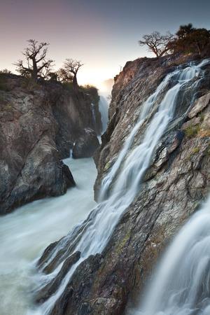 precarious: Epupa falls