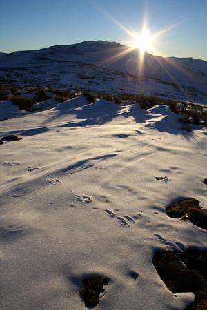 LESOTHO: Lesotho snow