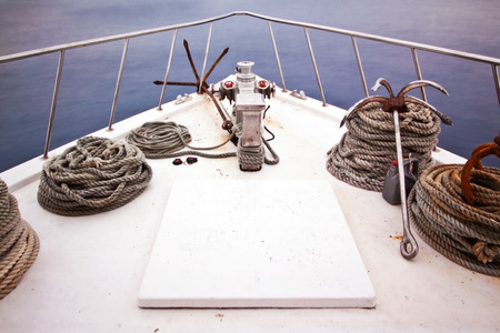 gease: Boat Bow Stock Photo