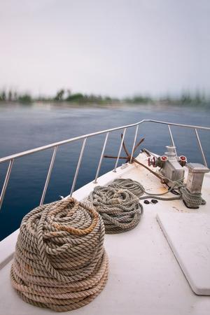 ocea: Boat Bow Stock Photo