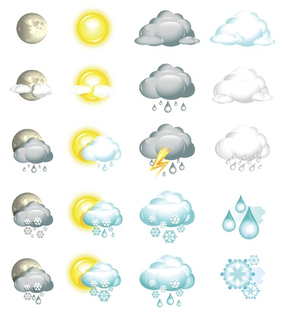 Icons Weather Stock Vector - 11159887