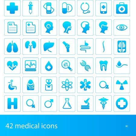 medical instruments: biểu tượng y tế Hình minh hoạ