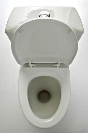 white lavatory pan isolated on white background Stock Photo - 8816061