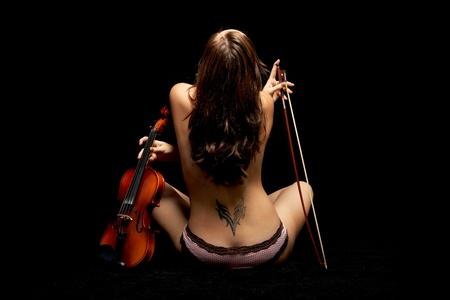 violinist Stock Photo - 8824613