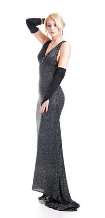 stylish lady isolated on white background Stock Photo - 8824383