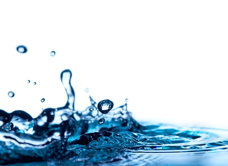 water isolated on white background Stock Photo - 8815846