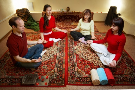 Thai massage is a type of massage in Thai style that involves stretching and deep massage. Stock Photo - 8830109