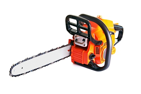 chainsaw - professional petrol chain saw photo