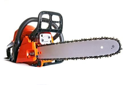 Chainsaw - scie à chaîne professionnel essence Banque d'images