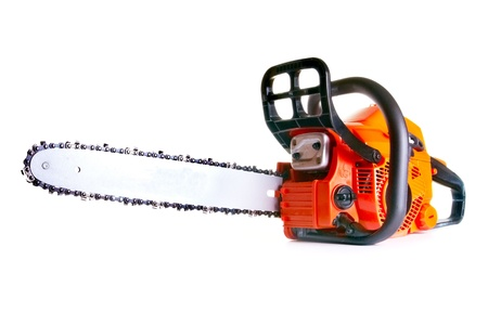 chainsaw - professional petrol chain saw Stock Photo - 9790107