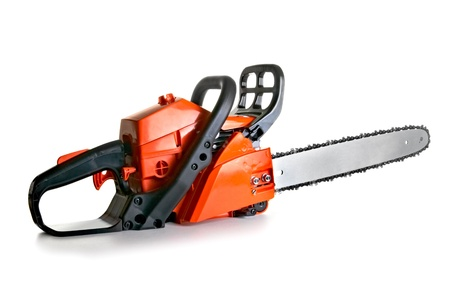 chainsaw - professional petrol chain saw Stock Photo - 11537582