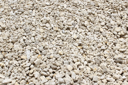 hone: rubble coming from a sand pit, stones Stock Photo