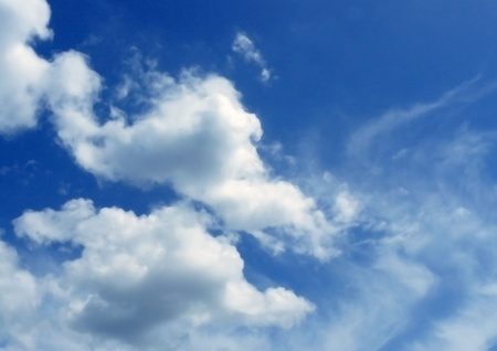 climatology: sight of the sky and the clouds
