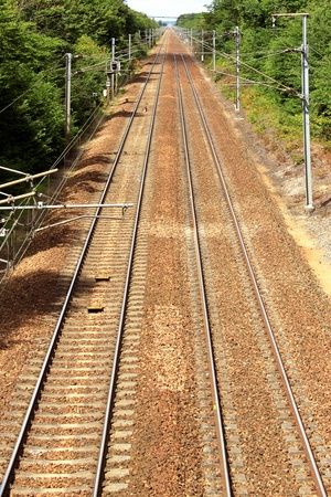 eurostar: Photograph of railway in prospect