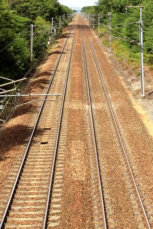 prospect: Photographie de chemin de fer en perspective