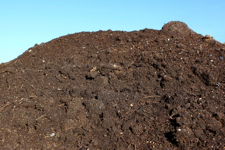 manure: agricultural soil for agriculture and organically grown