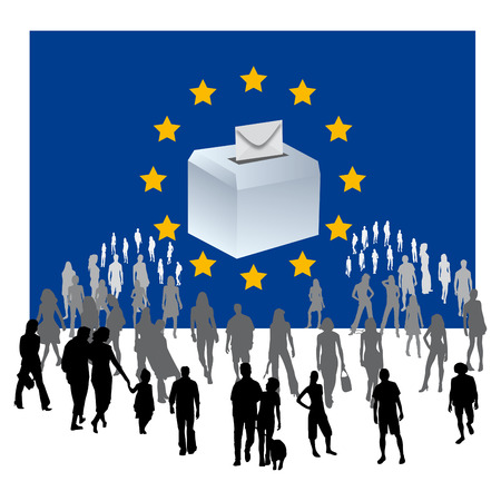 mayor: urn year was European flag European elections Political Parties Democratic