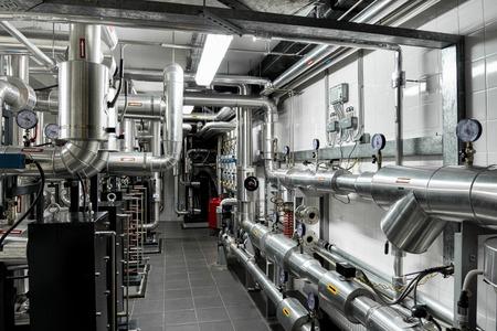Termiczna rurociągów elektrowni i oprzyrządowanie, nowoczesna fabryka