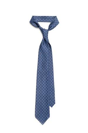 blu: Fashion designed blu tie isolated on white background Stock Photo