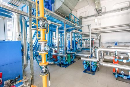 pumpingat acqua moderna presso il nuovo stabilimento di sole