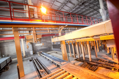 aerated: automated production of aerated concrete blocks on a factory