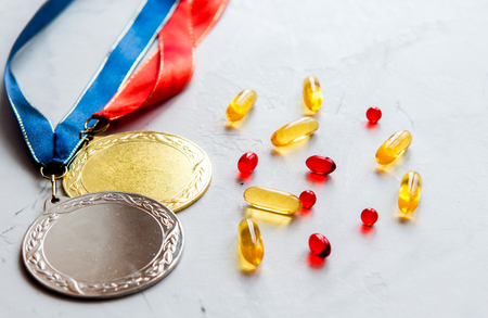 Concept of doping in sport - deprivation medals