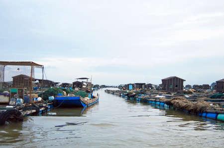 fishing village: Fishing village Stock Photo