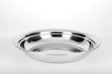 streamlined: A stainless steel plate