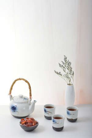 tea set: Ceramic tea set photo