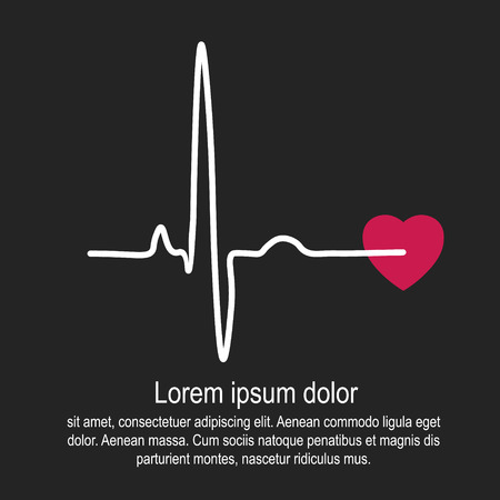 puls: Heart rate and pulse Ilustracja