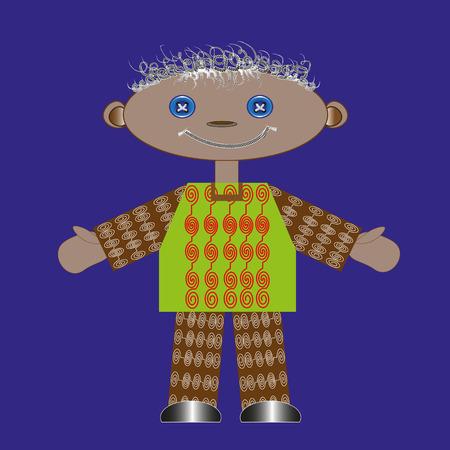 rag: rag doll