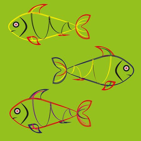 gray: Fish gray background
