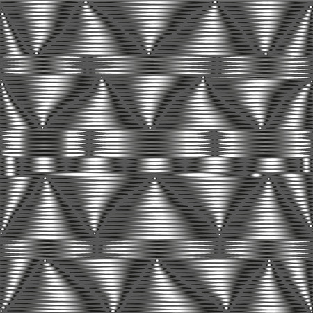 unsustainable: Grey metallic pattern The composition of gray metal pattern with unstable elements for decoration and design on a dark gray background with the illusion of volume