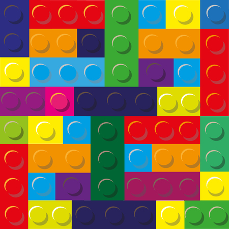 designer colors: Colors illustration of designer plastic Illustration of designer plastic consists of a set of squares and rectangles of bright colors for decoration and design