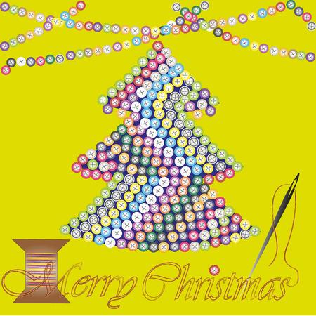 Frohe Weihnachten Grußkarte Oder Einladung Abstrakte Design-Gruß ...