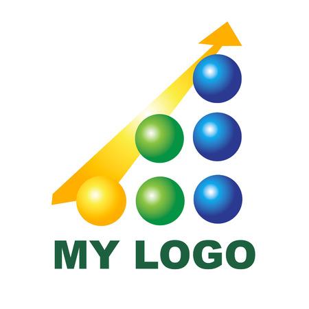 e business: Creative logo for your company Beautiful logo for your company for design and brand. Illustration