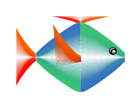 FISH OF THE FUTURE  Vector