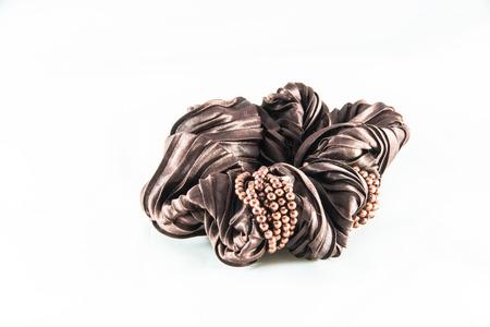 hair band: nice decorated  brown hair band