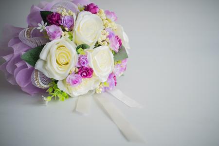 close up: close up artificial flower