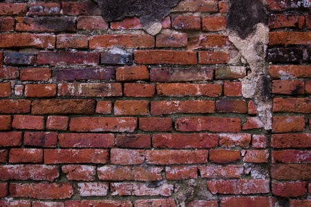Ancient Brick wall photo