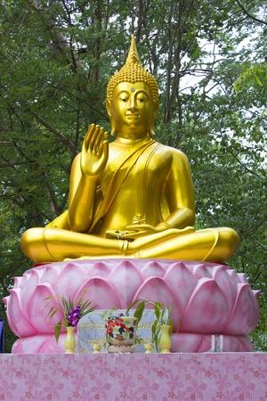 scruples: buddha statue Stock Photo