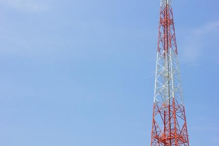 Telecommunications tower,Mobile phone base station  photo