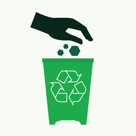 Energy conservation and recycle concept  Illustration