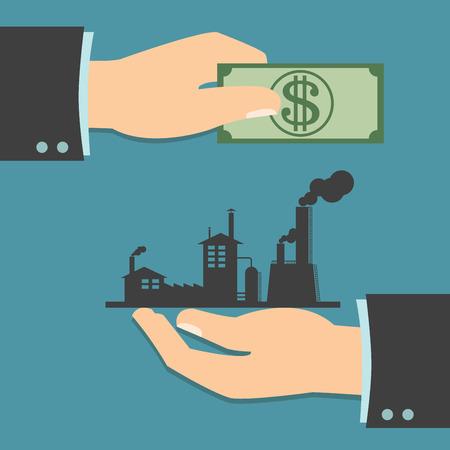 ビジネスの取引、ビジネス取引または既存事業の買収